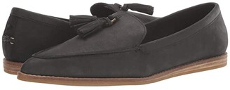 Sperry Saybrook Slip-On Leather (Black) Women's Shoes