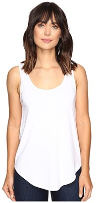 Lilla P Pima Modal Shirttail Scoop