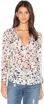 Rebecca Taylor Long Sleeve Oleander Top