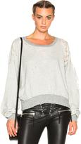 Unravel FWRD Exclusive Destroyed Oversize Crewneck Sweater