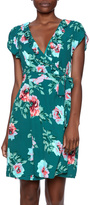 MinkPink Floral Wrap Dress