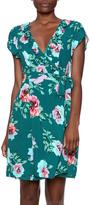 MinkPink Floral Wrap Dress