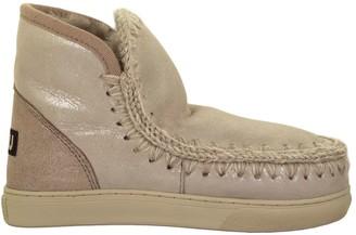 Mou Mini Eskimo Sneaker Rose Boot
