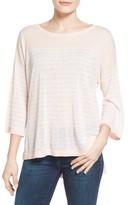 NYDJ Petite Women's Serra Stripe Sweater