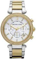 Michael Kors MK5626 Women's Parker Two-Tone Stainless Steel Chronograph Watch