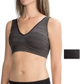 Delta Burke Mini-Stripe Seamless Comfort Bra - 2-Pack (For Women)