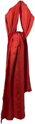 Faliero Sarti Pink Wool Scarves