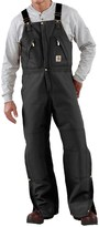 Carhartt Quilt-Lined Duck Bib Overalls - Factory Seconds (For Men)