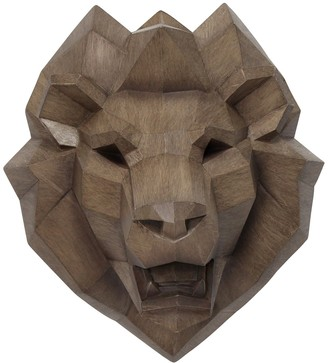 Stratton Home Faux Lion Head Wall Decor