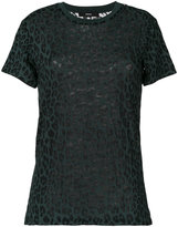 Diesel - leopard print T-shirt