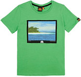 Sundek Holiday Island Graphic Cotton T-Shirt