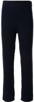 CHRISTOPHER ESBER High-Rise Knitted Trousers