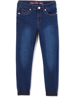 U.S. Polo Assn. Blue Wash Denim Jeans - Girls