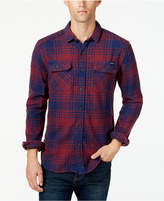 Superdry Men's Slim-Fit Plaid Shirt