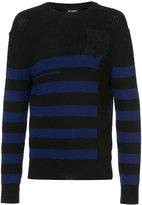 Raf Simons classic striped jumper