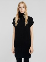 Calvin Klein Collection Cashmere Bouclè Sleeveless Tunic