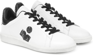 Isabel Marant Billyo leather sneakers
