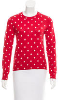 Comme des Garcons Wool Polka Dot Sweater