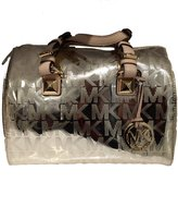 Michael Kors Grayson Satchel Mirror Metallic in