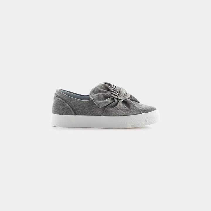 Chiara Ferragni Oversized Bow Slip-On Sneaker