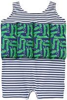 Sunuva Crocodile Floatsuit UPF 50+ (Baby) - Dark Blue - 1-2