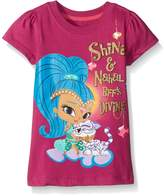 Nickelodeon Little Girls' Shimmer and Shine Nahal BFFS Divine Tee