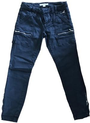 Joie Black Cotton Jeans for Women
