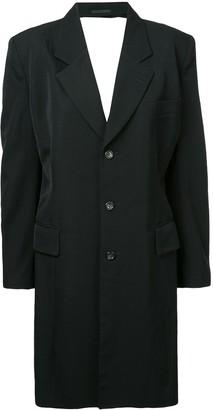 Comme Des Garçons Pre-Owned Backless Tailored Coat