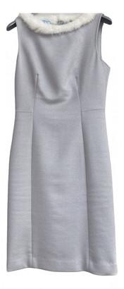 Prada Grey Wool Dresses