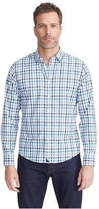 UNTUCKit Mezzacorono Performance (Blue) Men's Clothing