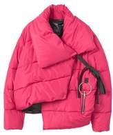 MANGO Ring oversize quilted coat