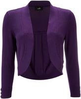 Wallis Purple Shrug