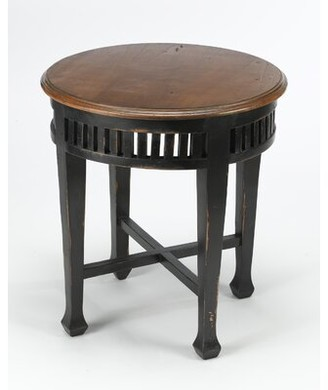 AA Importing End Table Color: Black