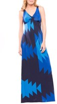 Olian Women's Olivia Sleeveless Maternity Maxi Dress
