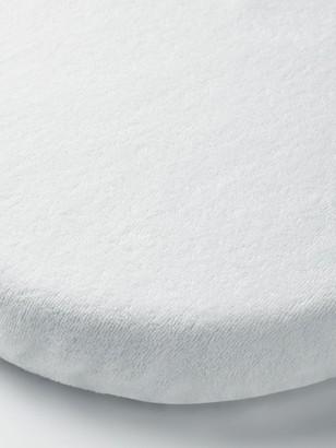 John Lewis & Partners Micro-Fresh Towelling Waterproof Crib Mattress Protector