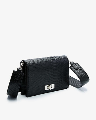 Le Château Snake Embossed Crossbody Bag