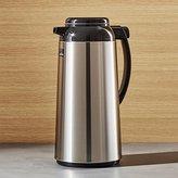Crate & Barrel Zojirushi Stainless Steel 1.85-Liter Thermal Carafe