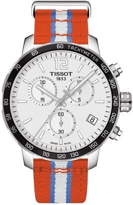 Tissot Men's Quickster Chronograph NBA Oklahoma City Thunder Watch, 42mm
