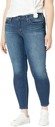 Silver Jeans Co. Plus Size Suki Mid-Rise Curvy Fit Skinny Jeans W93136EGX388 (Indigo) Women's Jeans