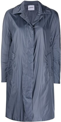 Aspesi Metallic Duffle Coat