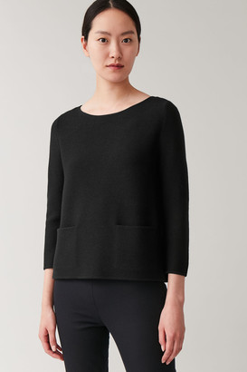 Cos A-Line Merino Sweater