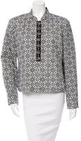 Tory Burch Embellished Patterned Jacket