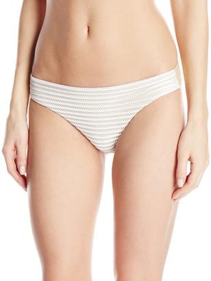 Luli Fama Women's Moon Over Miami Seamless Full Bikini Bottom