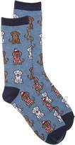 K. Bell Women's Waldo Dogs Crew Socks