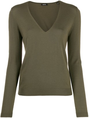 Aspesi V neck jumper
