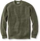 L.L. Bean Men's Blue Jean Sweater, Crewneck