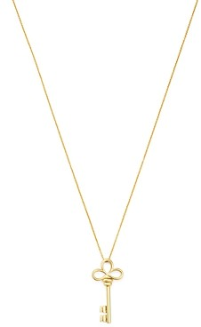 Roberto Coin 18K Yellow Gold Small Key Pendant Necklace, 18
