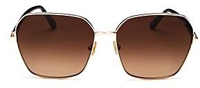 Tom Ford Women's Square Sunglasses, 62mm
