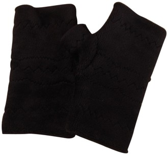 SSMENG Women Fingerless Gloves Clearance Winter Autumn Thick Warm Gloves Keyboard Leak Finger Gloves(Black Free Size)