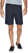 John Varvatos Linen Flat Front Shorts